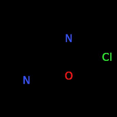 Molecular structure for 2-chloro-[1,3]oxazolo[5,4-b]pyridine