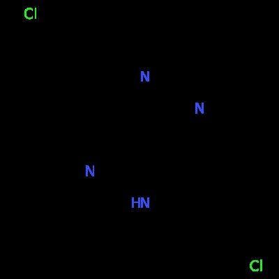 Molecular structure for Clofazimine