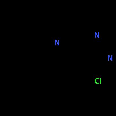 Molecular structure for 7-benzyl-4-chloro-6,8-dihydro-5H-pyrido[3,4-d]pyrimidine